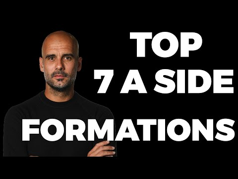 Best 7 A Side Football Formations Strategies Youtube