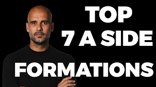 Best 7-a-side Football Formątions & Strategies