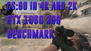 CS:GO IN 4K & 2K | GTX 1060 3GB + I5-7400 | ULTRA | BENCHMARK