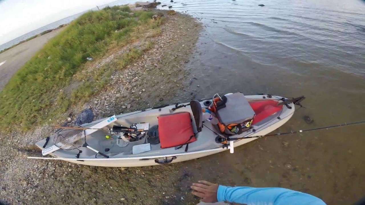 Kayak fishing setup 2016 youtube for Fishing canoe setup