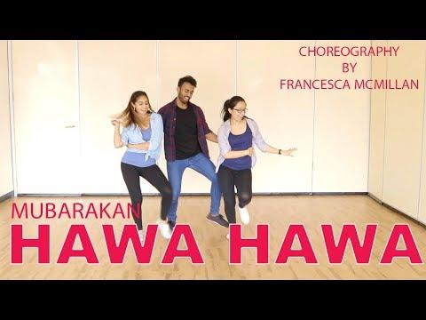 Hawa Hawa (Mubarakan) | Bollywood Dance Cover | Francesca McMillan | Rahul Johnson | Tash Luthra|