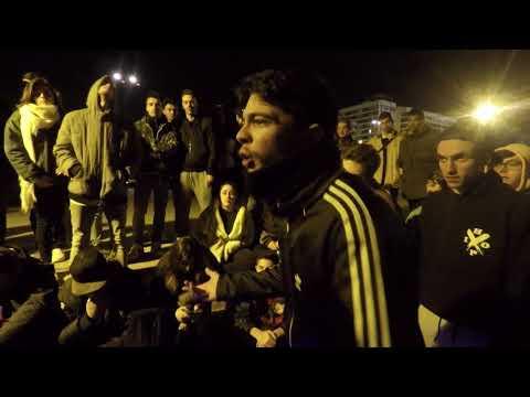 DOBLE F VS DEKKER Octavos Batallas Underground Valencia