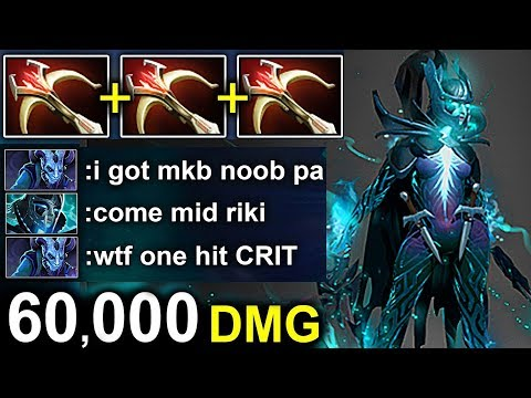 WTF One Hit PHANTOM ASSASSIN 3x DAEDALUS DOTA 2 Patch 7.16 NEW META Gameplay #121