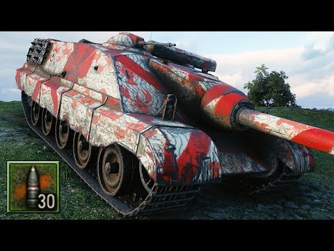 Foch (155) - FULL HE AMMO - World Of Tanks Gameplay