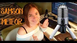 Samson Meteor Розпакування кращого конденсаторного мікрофона в своїй ціновій категорії