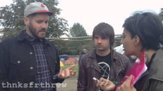 thnksfrthrvw @ Hevy Festival 2014 - Silverstein Interview (Billy Hamilton & Shane Told)