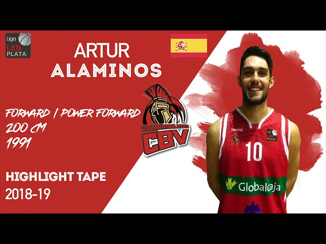 Artur Alaminos Highlight LEB Silver Spain 2018-19