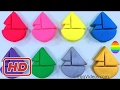 Play Doh Boats Animals Fun & Creative for Kids Learn Colors Finger Family Nursery Rhymes Superhero