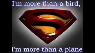 Superman By Five For Fighting (lyrics)
