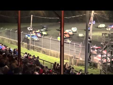 21st Annual Hogan Memorial IMCA Modified feature Benton County Speedway 7/12/15