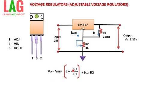 voltage regulators (adjustable voltage regulator)(हिन्दीvoltage regulators (adjustable voltage regulator)(हिन्दी )