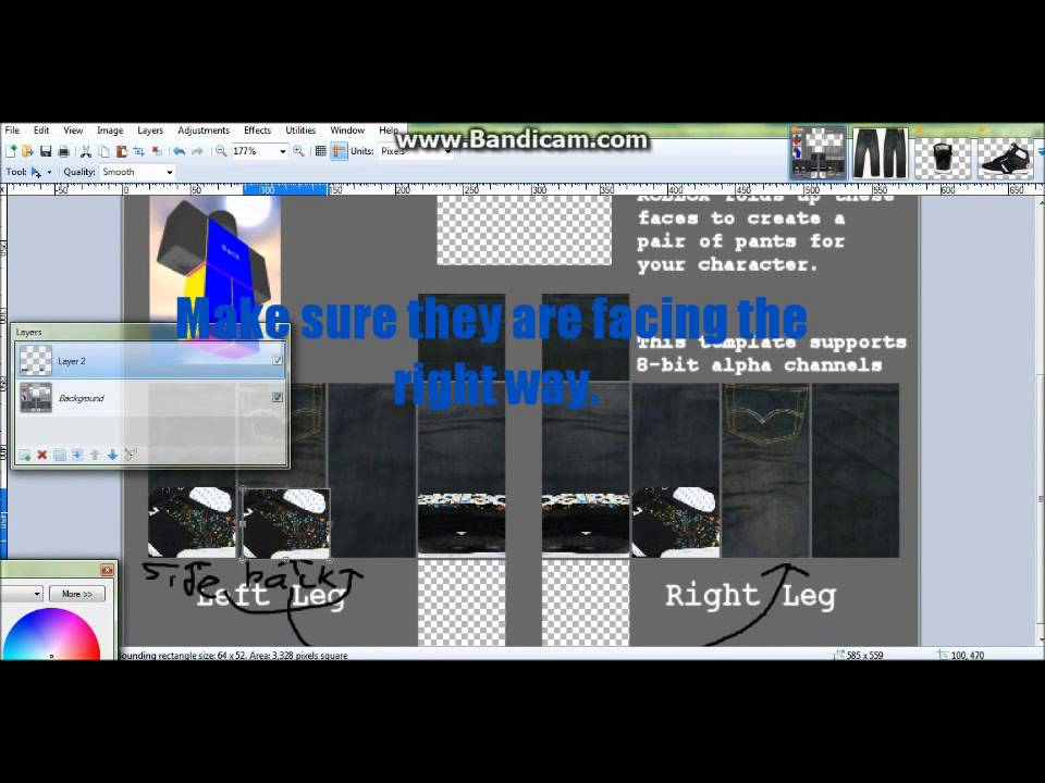 How to Make Realistic Pants on Roblox - YouTube