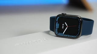 Apple Watch Series 7 Unboxing, Seтup and First Look