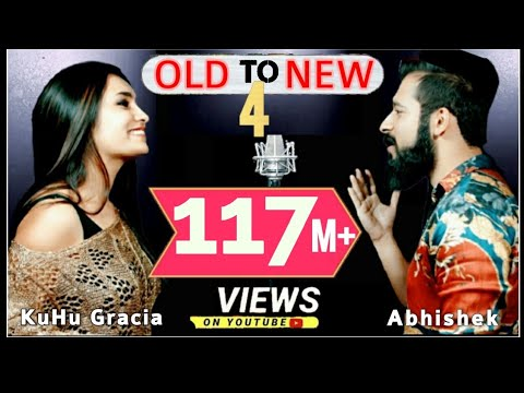 Download Old to New-4 | KuHu Gracia | Ft. Abhishek Raina | Bollywood Romantic Songs | The Love Mashup