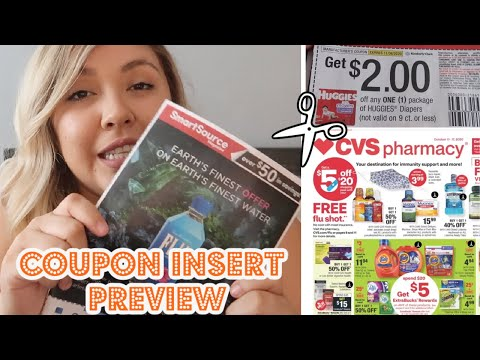 COUPON INSERT + CVS AD PREVIEW | HUGGIES, SCHICK & MUCH MORE *STARTING WEEK 10/11 – 10/17