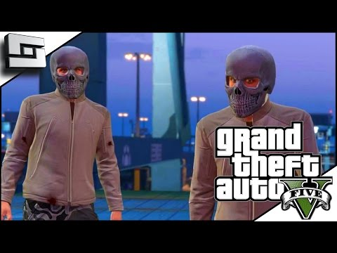 GTA 5 Funny Moments - TWINSIES! Hilarious Heist w/ The Pojkband #3