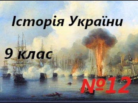 №12 Кримська війна 1853–1856 рр. Та реформи 60–70-х рр. 19 ст.Історія України 9 клас