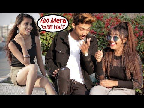 Annu Singh: Asking   Yeh Mera Ex Boyfriend hai Prank: part2   Prank On Cute Girl   Prank In {BRbhai}