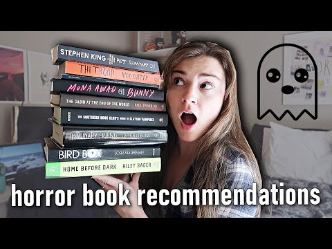 Horror Book Recommendations 👻