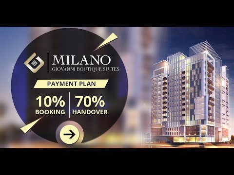 Milano by Giovanni Boutique Suites in Jumeirah Village Circle(JVC)