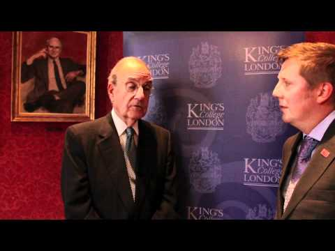 King's College London: Interview with Senator George Mitchell