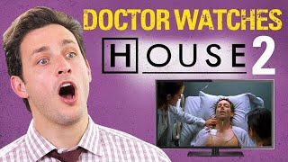 doctor reacts to house md 2 three stories medical drama review