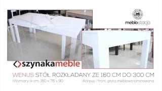 Stół Wenus od Szynaka Meble | MEBLOSTACJA Olsztyn