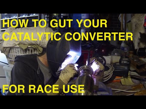 STRAIGHT THROUGH CAT 101 (HOW TO GUT YOUR CATALYTI