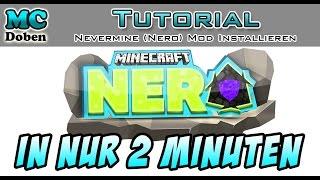Minecraft (NERO) Nevermine Mod Installieren Deutsch