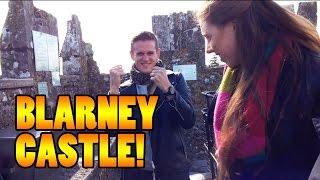 KISSING THE BLARNEY STONE! - Travel vlog 100 [Ireland]