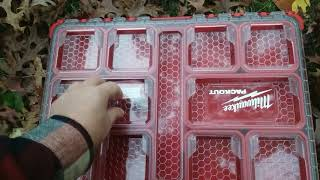 Milwaukee low profile packout organizer first impressions