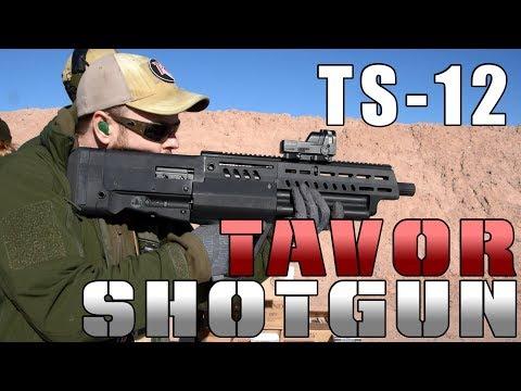 IWI TS-12 Tavor Shotgun and Tavor 7 at Range Day 2018
