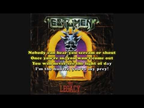 Do or Die (Testament) Karaoke