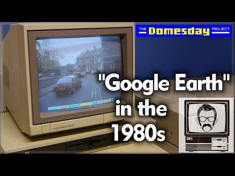 Walk Around An 80s City With LASERDISC! The Domesday Project | Nostalgia Nerd
