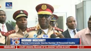 News@10: FRSC To Carry Arms For Safety 02/12/16 Pt 2