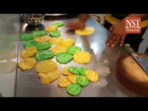 Yellow & green roti canai to celebrate Kedah's upcoming Malaysia Cup final appearance