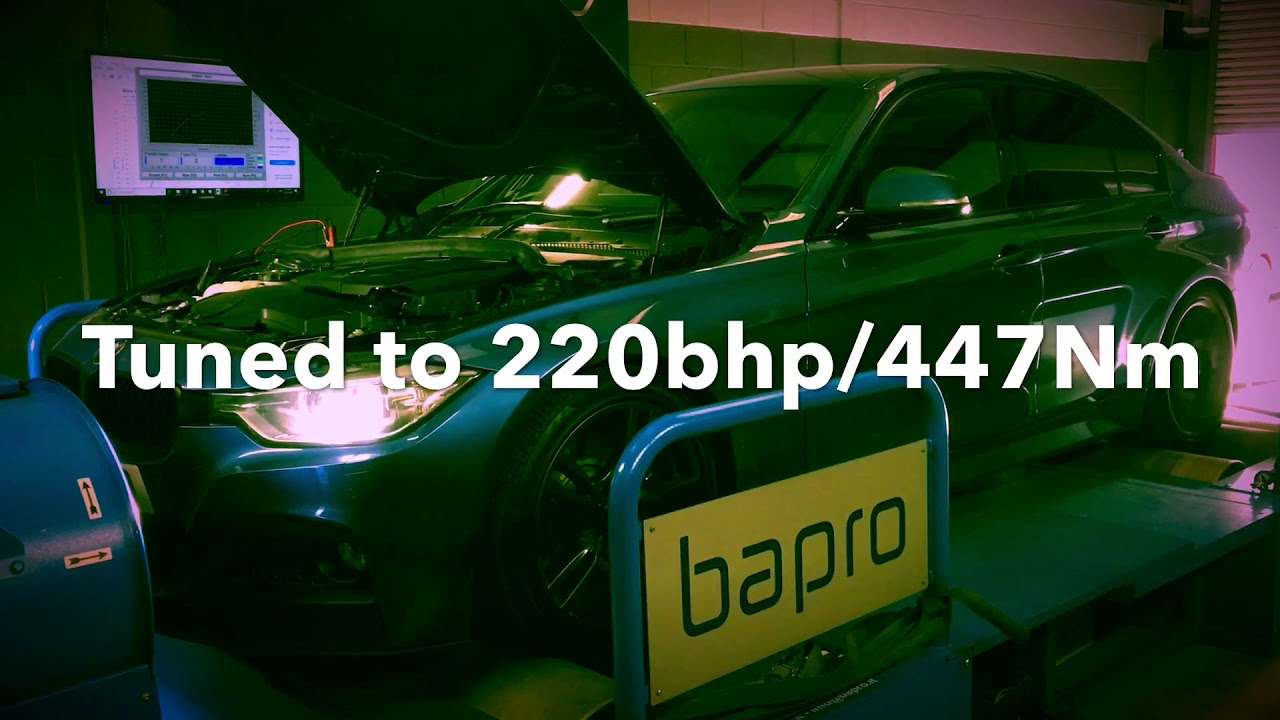 BMW 320d 184 ECU Remap, Custom Stage 1 Tuned by MoreBHP