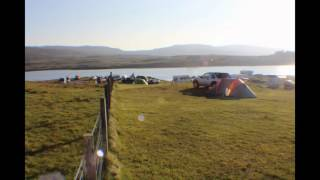 Kinloch camp site Isle Of Skye