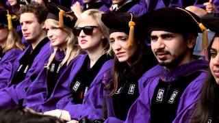 NYU 2012 Commencement--Highlights