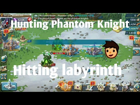 Hunting The Phantom Knight :- Lords Mobile | Phantom Knight Rewards