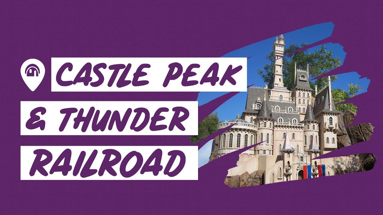 Dive into a Disney Castle Peak & Thunder Railroad | 📍 Anaheim, CA | Home Tour