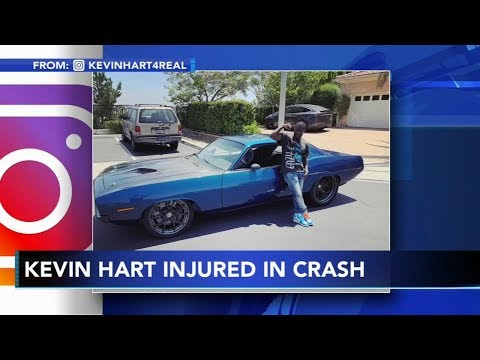 Kevin Hart car crash UPDATE - RECOVERING FROM BACK SURGERY