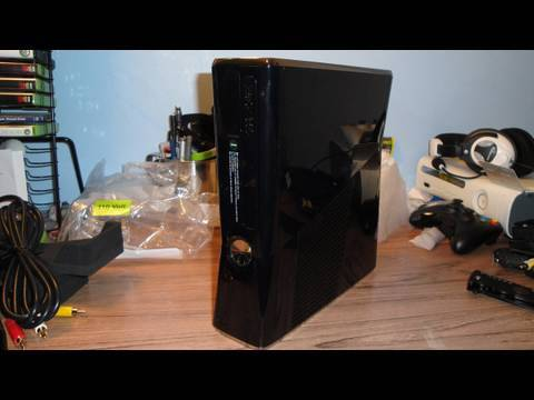 new xbox 360 slim 250gb unboxing youtube. Black Bedroom Furniture Sets. Home Design Ideas
