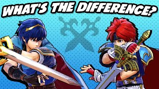 What's the Difference between Marth and Roy? (SSBU)