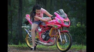 Gambar cover Ratu Meta - Sakitnya Luar Dalam (Kontes Modifikasi Motor Hutan Kayu )