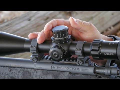 Precision Long-Range Shooting With Kahles Optics - YouTube
