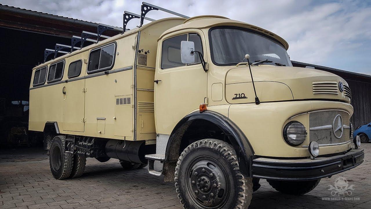 Mercedes LA 9 KR Kurzhauber - Wohnmobil