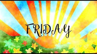 Days of the Week song - viikonpäivät englanniksi