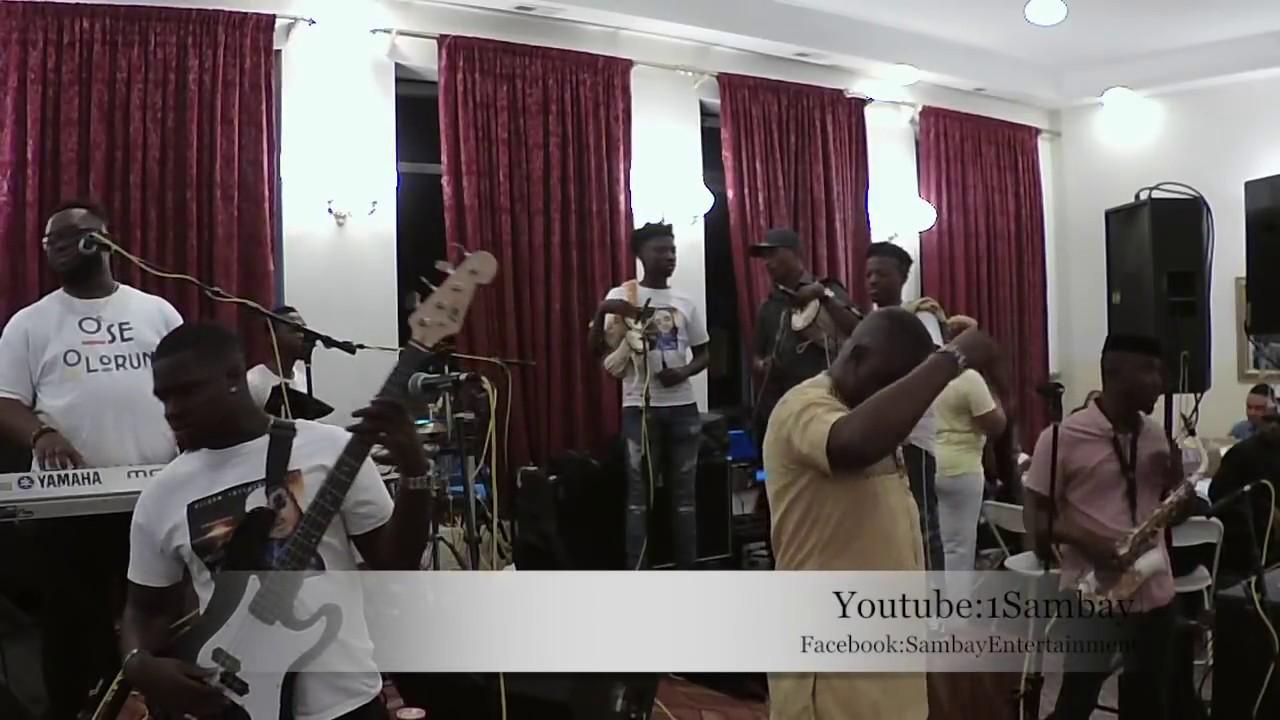 "Download Alashe Sammy Jerry & Next Level Band ""God Alone"" Album Launch Chicago 6/8/18"