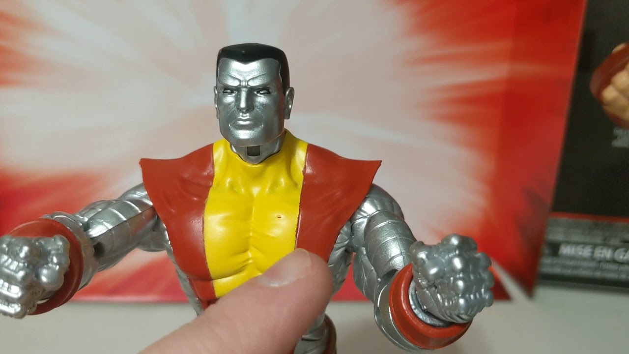 Marvel legends Colossus and Juggernaut cool toys